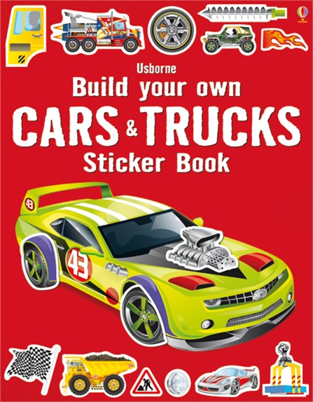 Build Some Of The Greatest Machines On Road Using Stickers In This Bumper Activity Book From Super Cars To Enormous Monster Trucks Speedy Rally