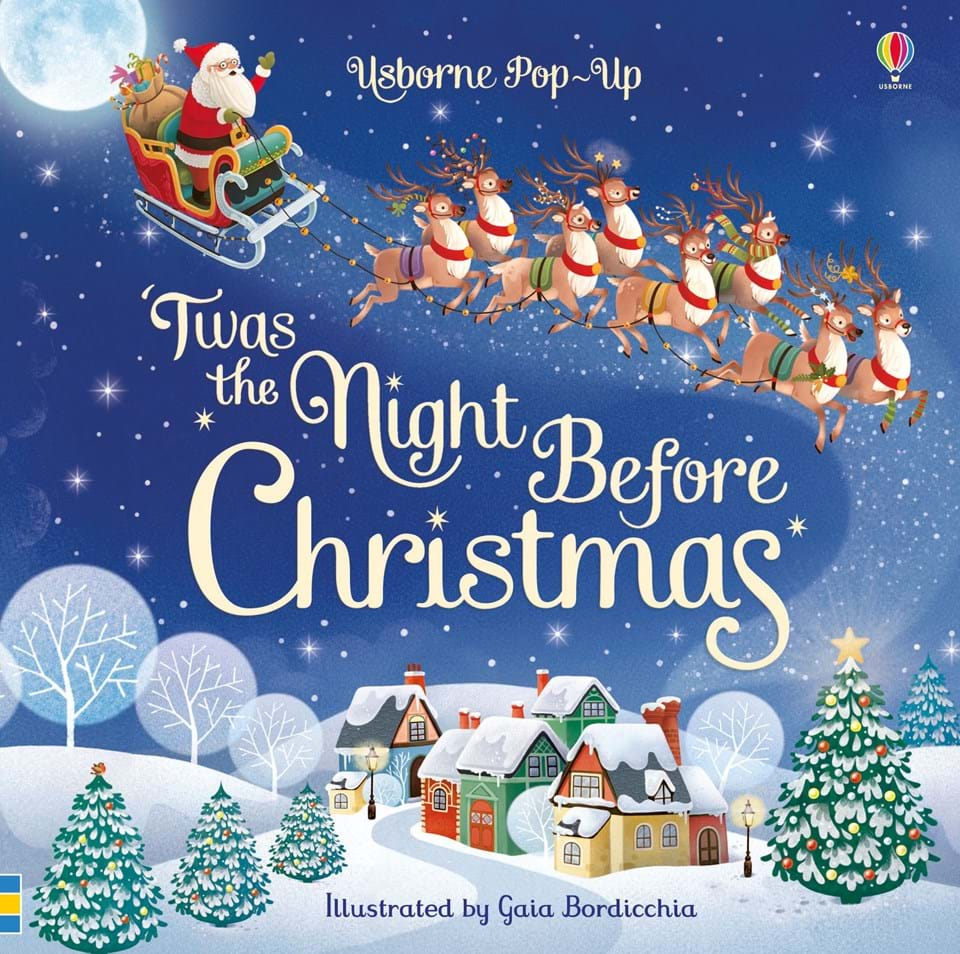 twas the night before christmas when all through the house not a creature was stirring not even a mouse open this pop up book and watch the classic - Classic Christmas Stories